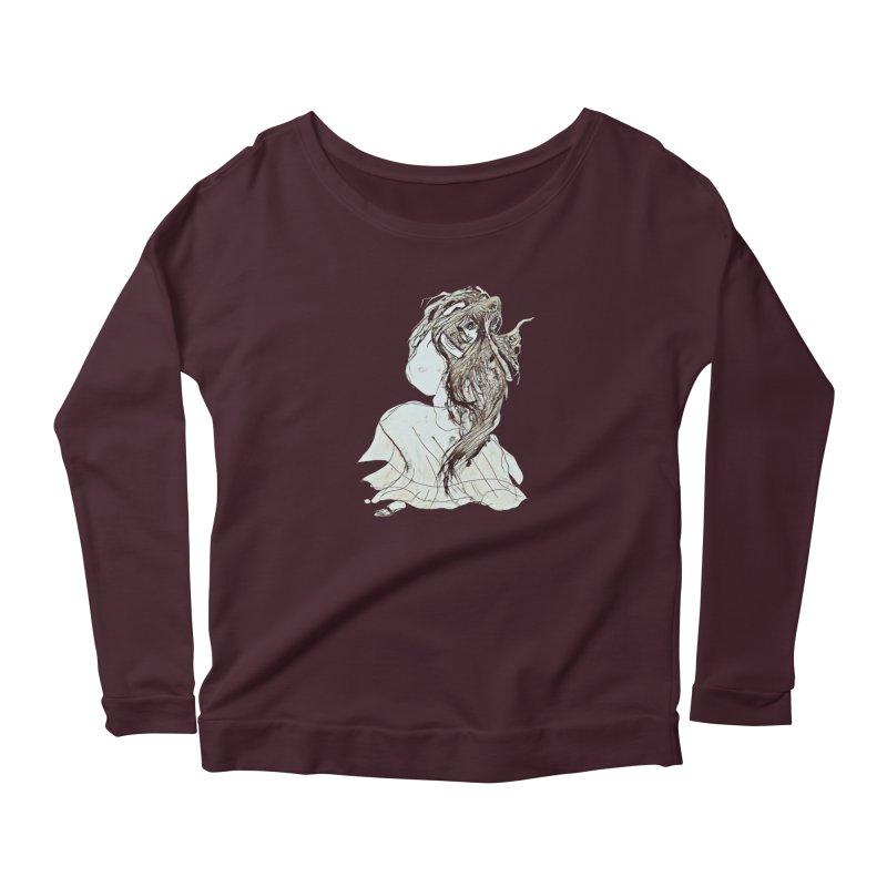 Frustration Women's Longsleeve T-Shirt by dasiavou's Artist Shop