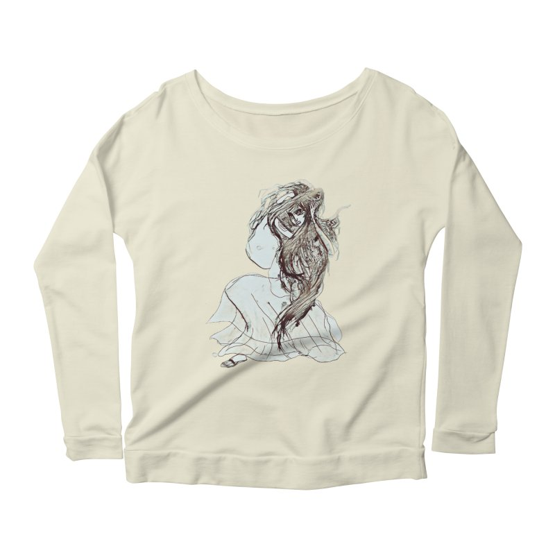 Frustration Women's Scoop Neck Longsleeve T-Shirt by dasiavou's Artist Shop