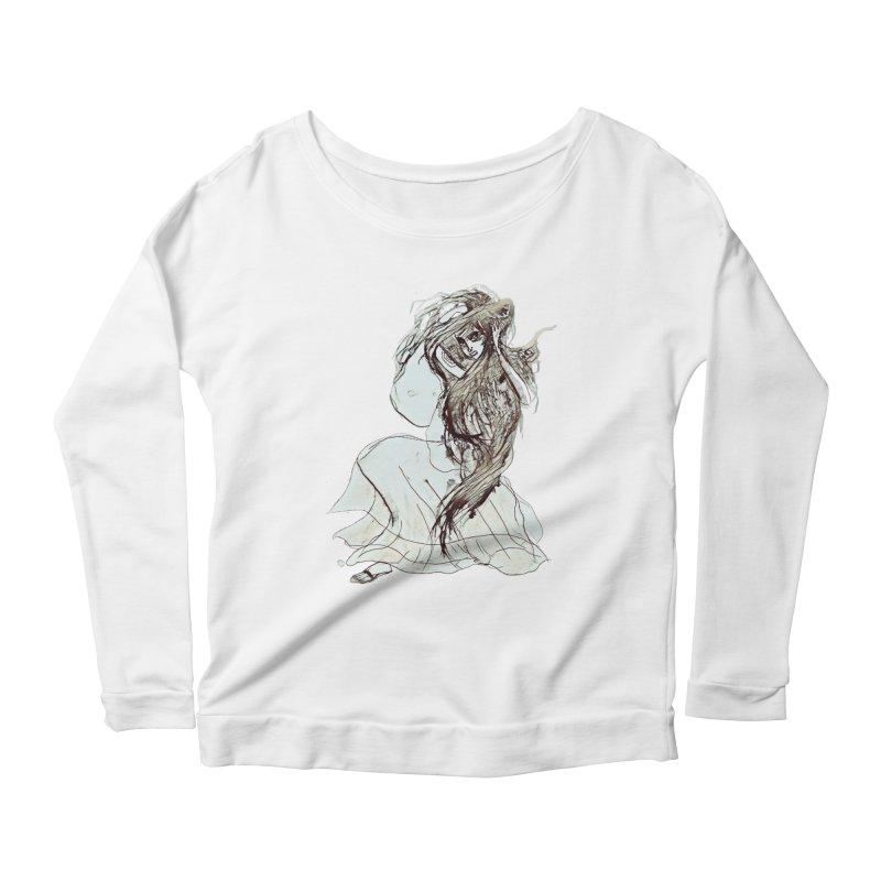 Frustration Women's Scoop Neck Longsleeve T-Shirt by dasiavou's Artist Shop