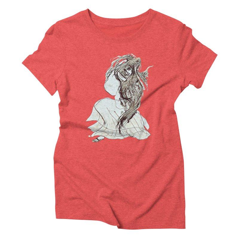 Frustration Women's Triblend T-Shirt by dasiavou's Artist Shop