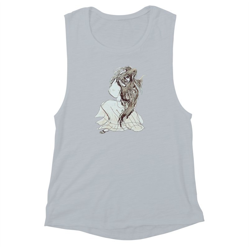 Frustration Women's Muscle Tank by dasiavou's Artist Shop