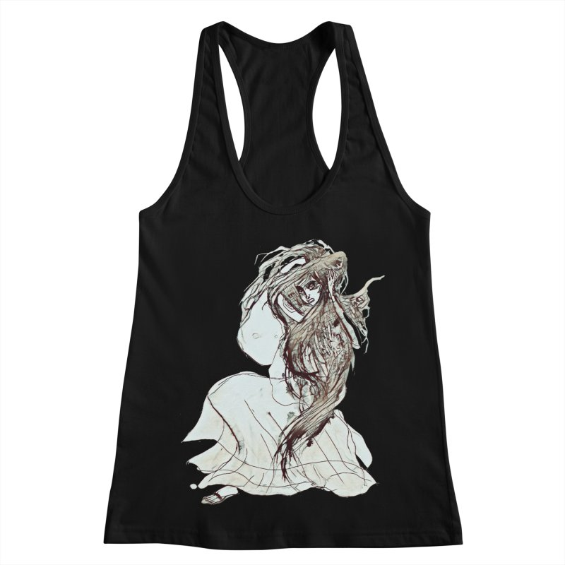 Frustration Women's Racerback Tank by dasiavou's Artist Shop