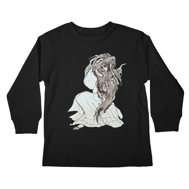 Frustration Kids Longsleeve T-Shirt by dasiavou's Artist Shop