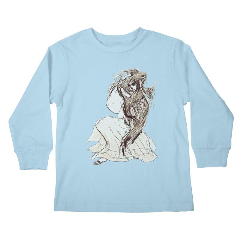 Frustration Kids Longsleeve T-Shirt by dasiavou's Artist Shop