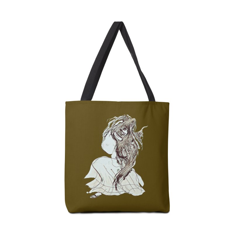 Frustration Accessories Tote Bag Bag by dasiavou's Artist Shop
