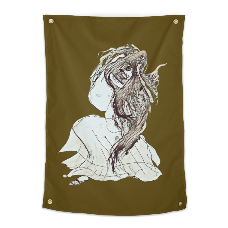 Frustration Home Tapestry by dasiavou's Artist Shop