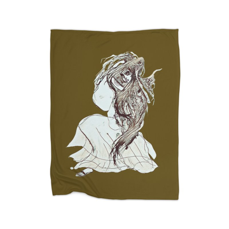 Frustration Home Blanket by dasiavou's Artist Shop