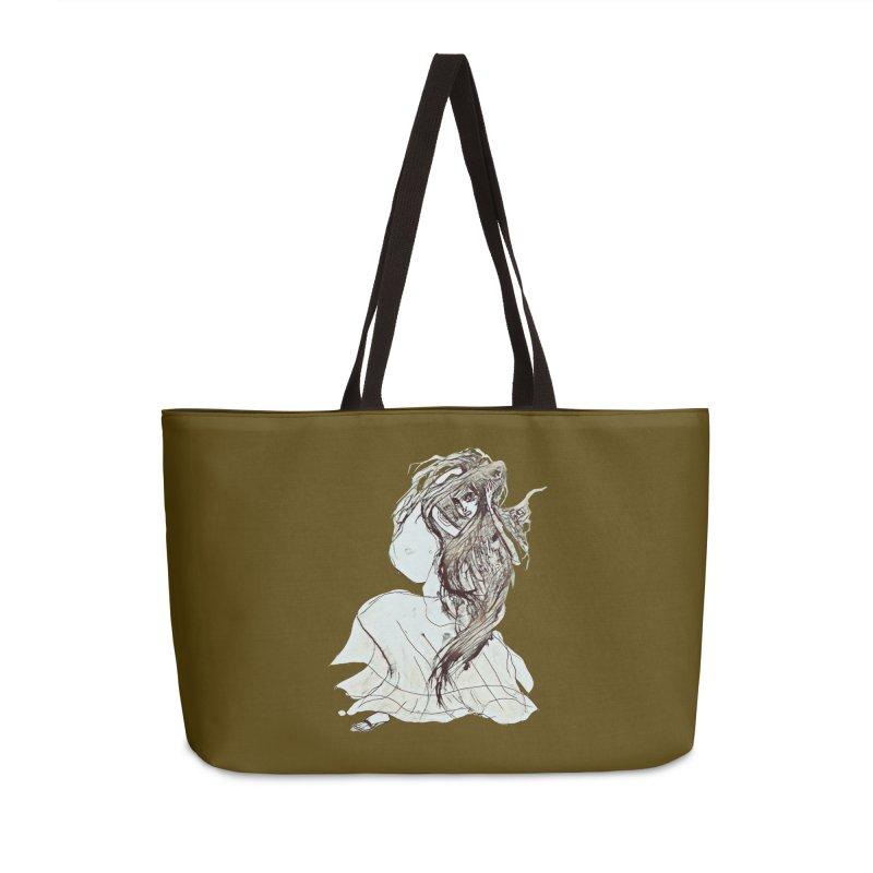 Frustration Accessories Weekender Bag Bag by dasiavou's Artist Shop