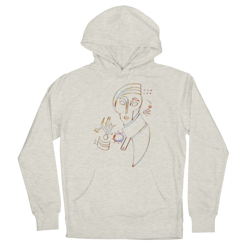 Terra Ex Machina Women's French Terry Pullover Hoody by dasiavou's Artist Shop