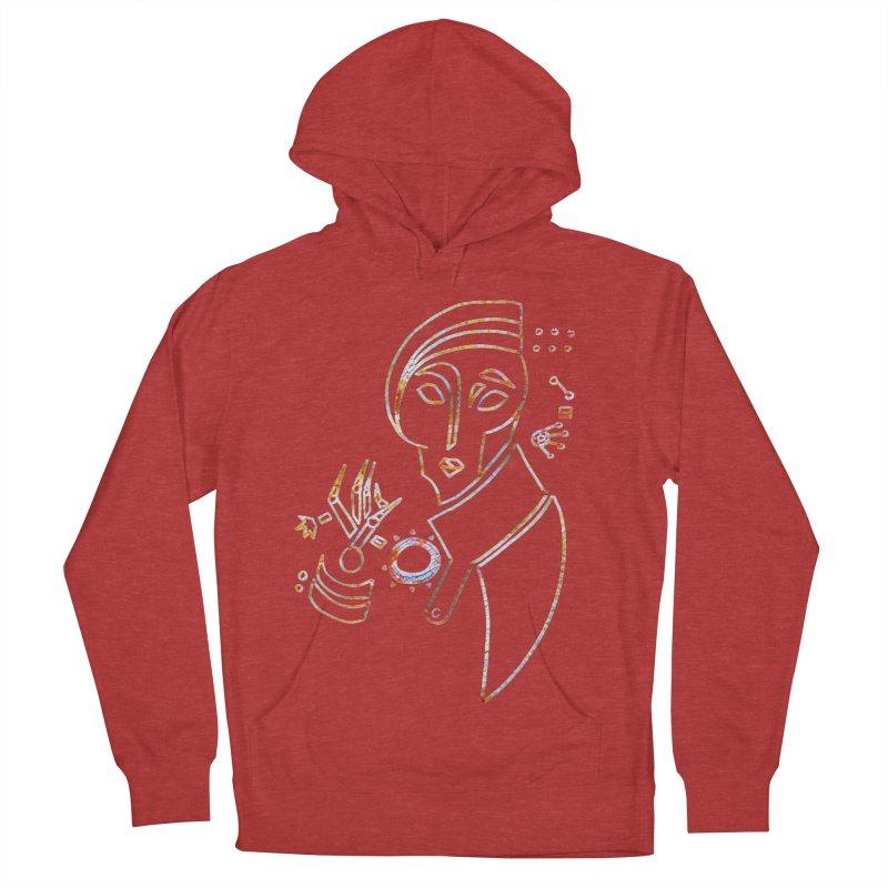 Terra Ex Machina Men's French Terry Pullover Hoody by dasiavou's Artist Shop