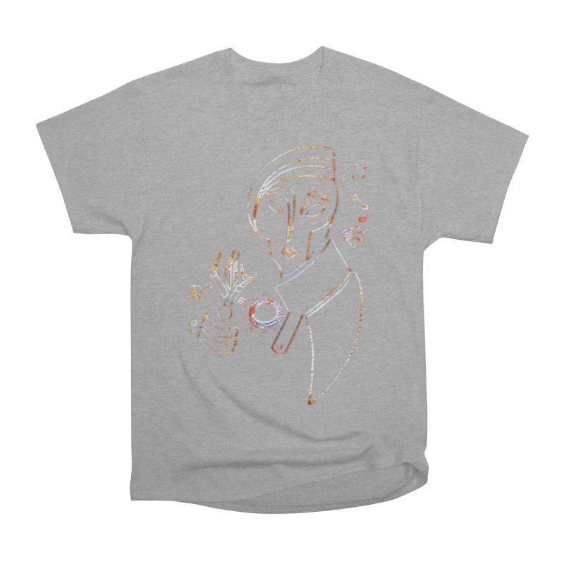 Terra Ex Machina Women's Heavyweight Unisex T-Shirt by dasiavou's Artist Shop
