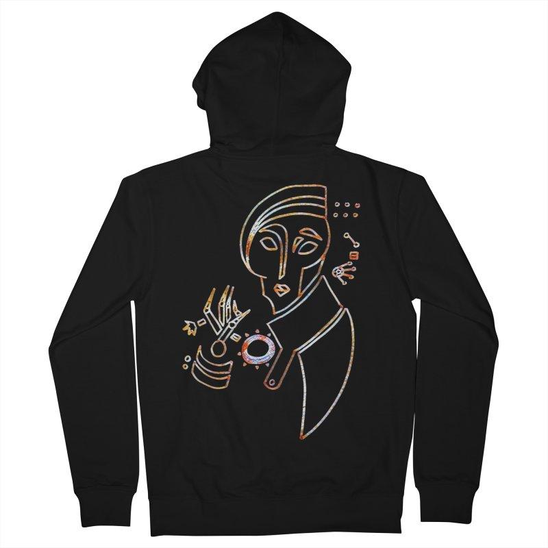 Terra Ex Machina Men's Zip-Up Hoody by dasiavou's Artist Shop