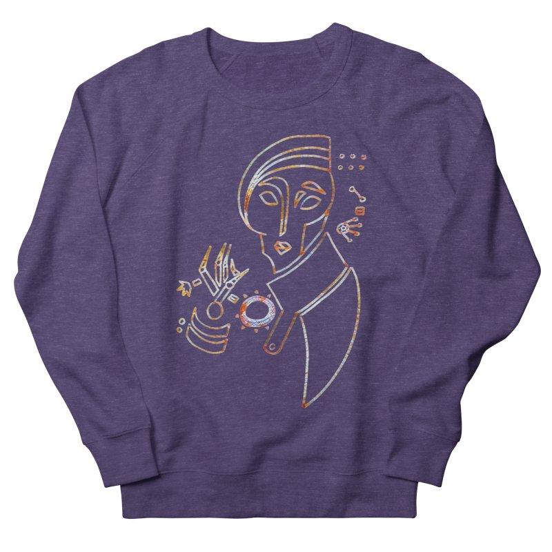 Terra Ex Machina Women's French Terry Sweatshirt by dasiavou's Artist Shop