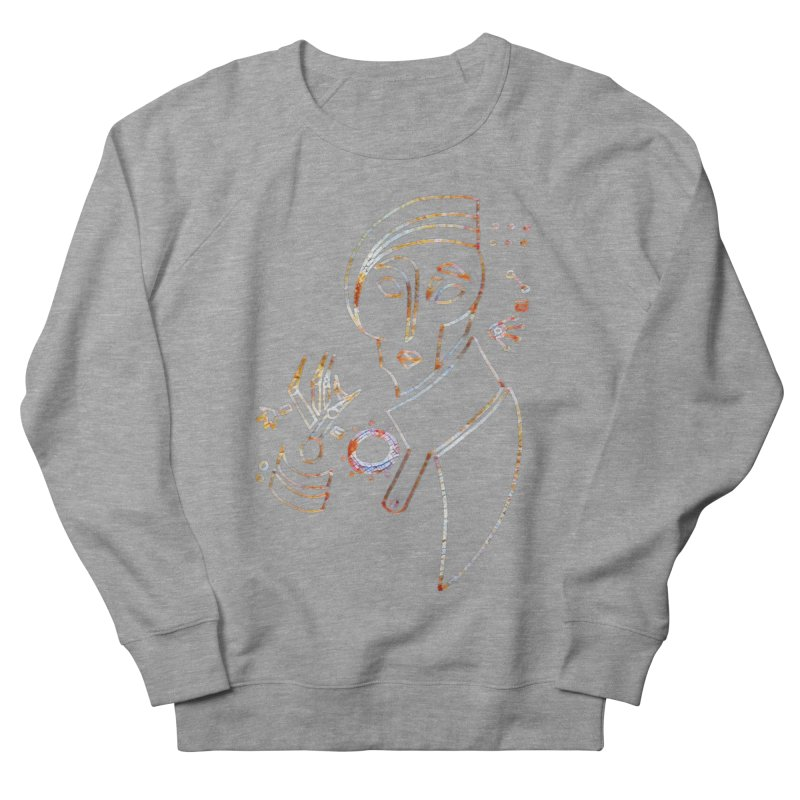 Terra Ex Machina Women's French Terry Sweatshirt by dasiavou's Artist Shop