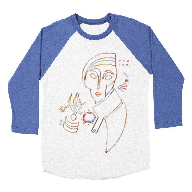 Terra Ex Machina Women's Baseball Triblend T-Shirt by dasiavou's Artist Shop