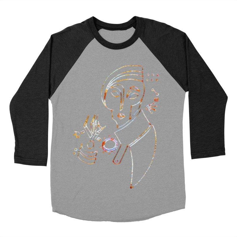 Terra Ex Machina Men's Baseball Triblend T-Shirt by dasiavou's Artist Shop