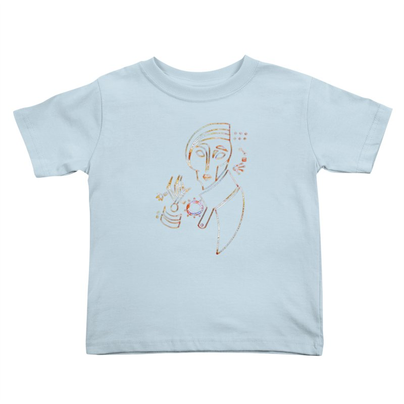 Terra Ex Machina Kids Toddler T-Shirt by dasiavou's Artist Shop