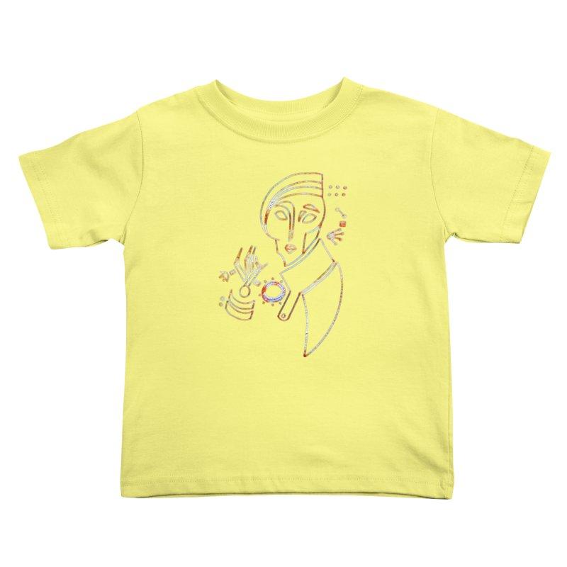 Terra Ex Machina Kids Toddler T-Shirt by dasiavou's Artist Shop