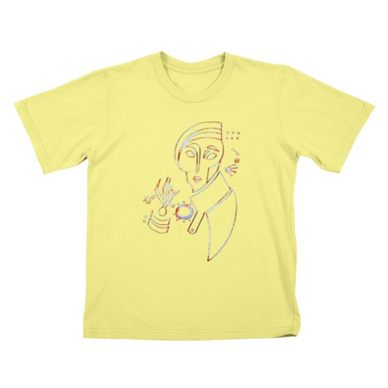 Terra Ex Machina Kids T-shirt by dasiavou's Artist Shop