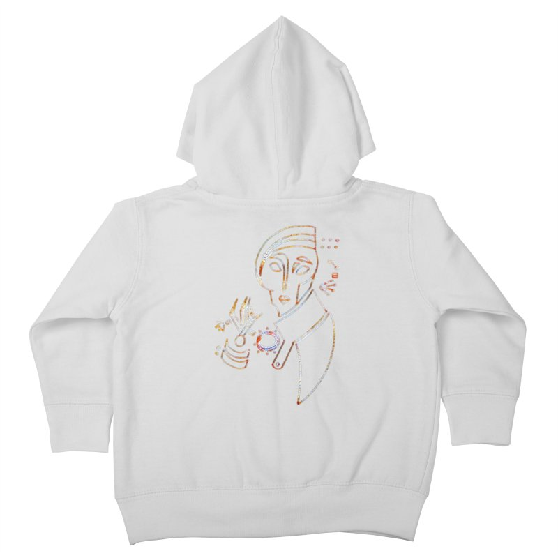Terra Ex Machina Kids Toddler Zip-Up Hoody by dasiavou's Artist Shop