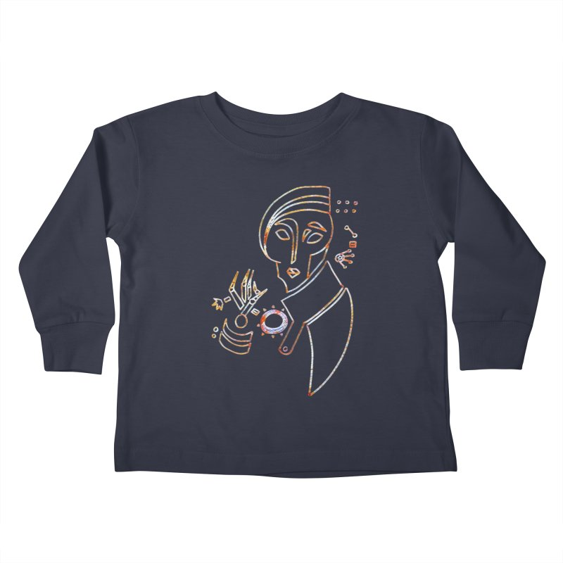 Terra Ex Machina Kids Toddler Longsleeve T-Shirt by dasiavou's Artist Shop