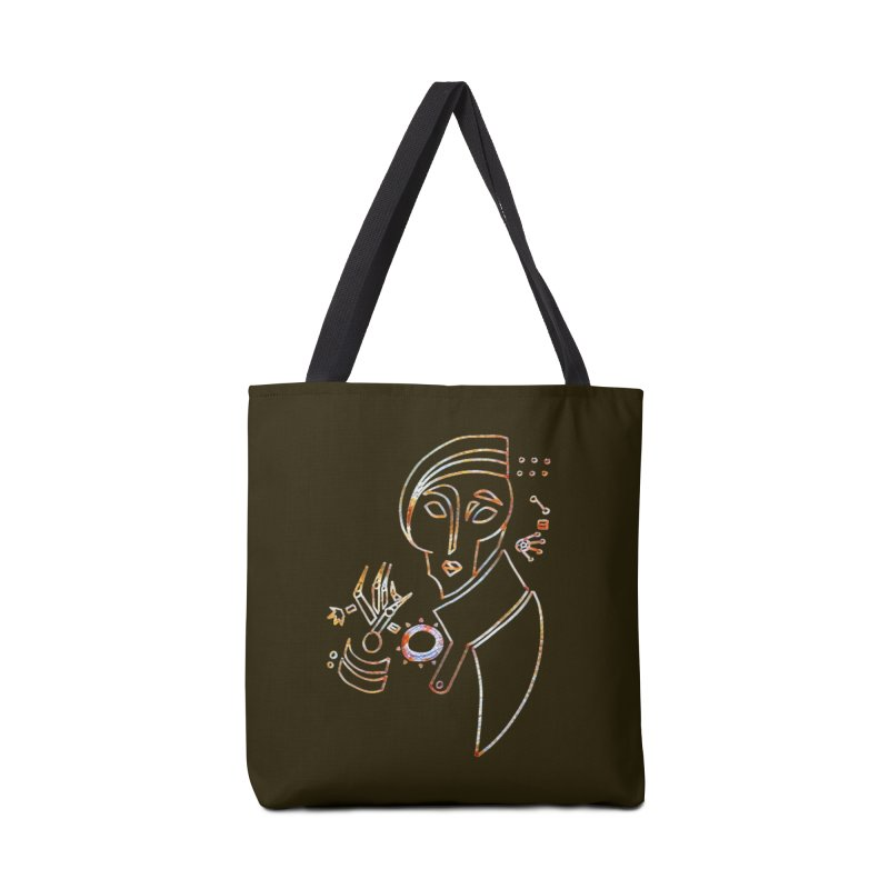 Terra Ex Machina Accessories Tote Bag Bag by dasiavou's Artist Shop