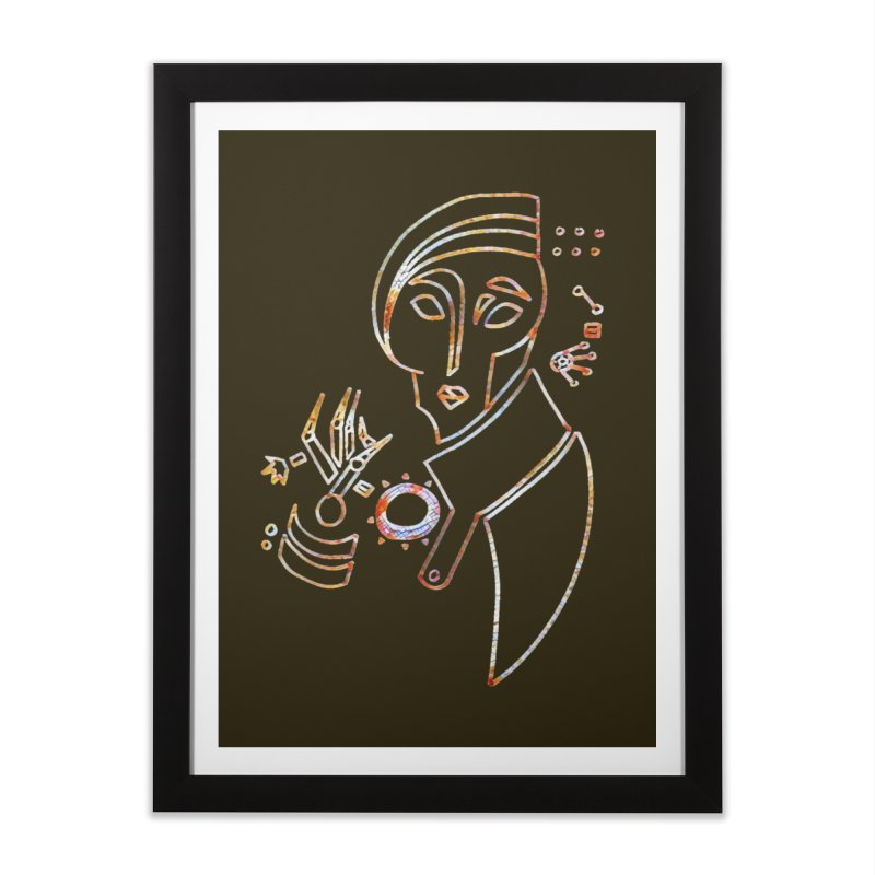 Terra Ex Machina Home Framed Fine Art Print by dasiavou's Artist Shop