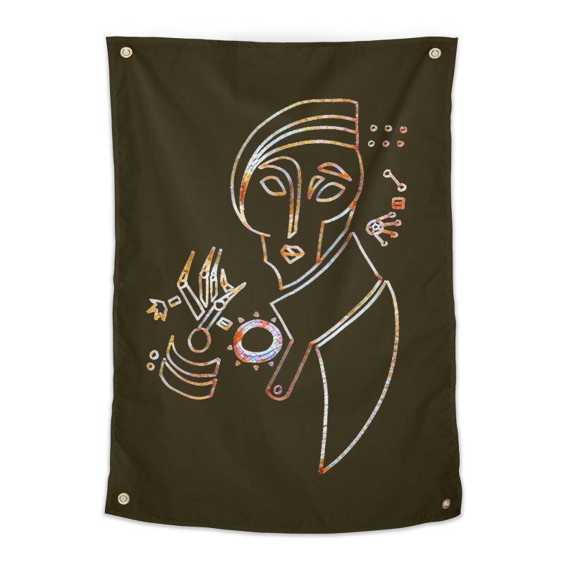 Terra Ex Machina Home Tapestry by dasiavou's Artist Shop