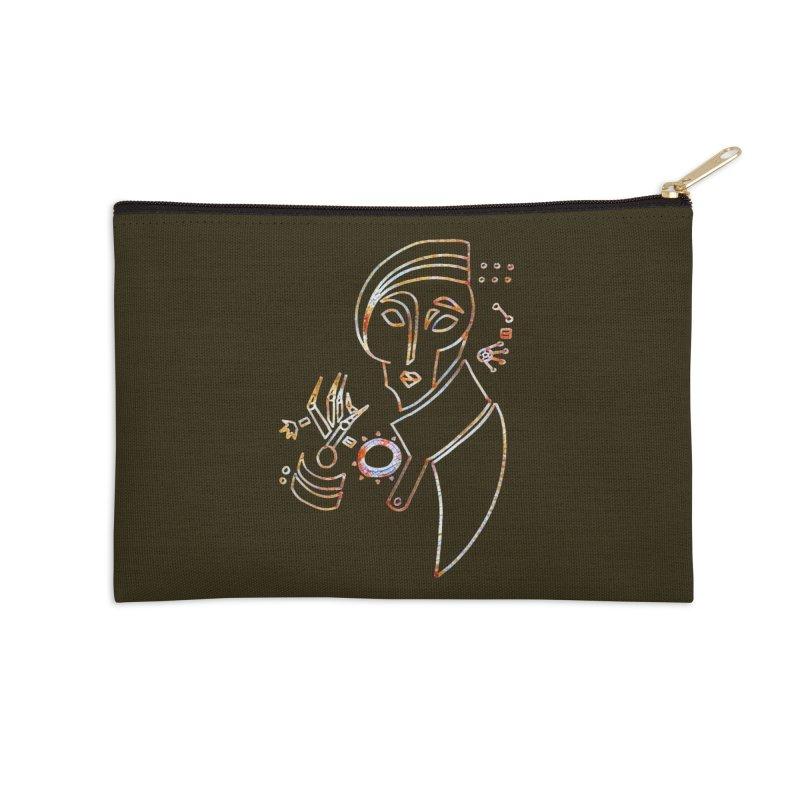 Terra Ex Machina Accessories Zip Pouch by dasiavou's Artist Shop