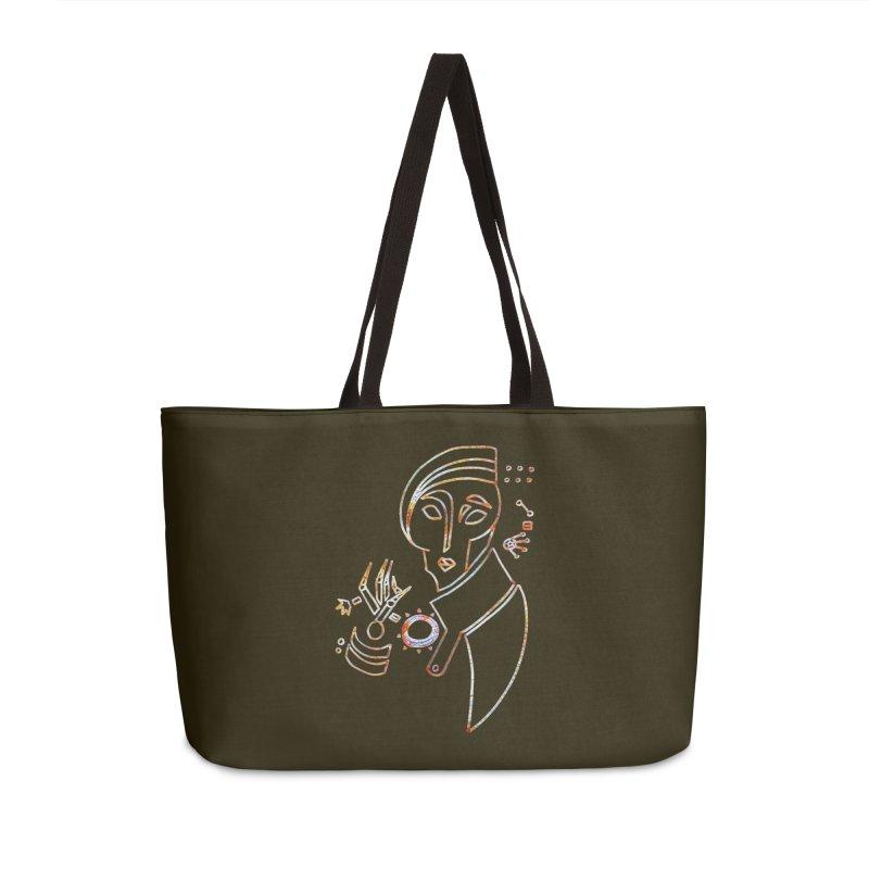 Terra Ex Machina Accessories Weekender Bag Bag by dasiavou's Artist Shop