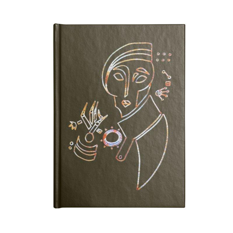 Terra Ex Machina Accessories Notebook by dasiavou's Artist Shop