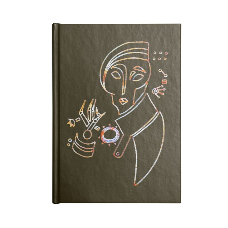 Terra Ex Machina Accessories Lined Journal Notebook by dasiavou's Artist Shop