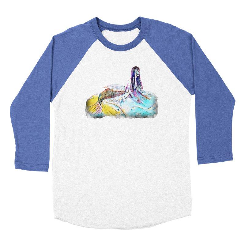 Emergence Women's Baseball Triblend Longsleeve T-Shirt by dasiavou's Artist Shop