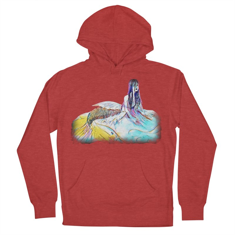 Emergence Women's French Terry Pullover Hoody by dasiavou's Artist Shop