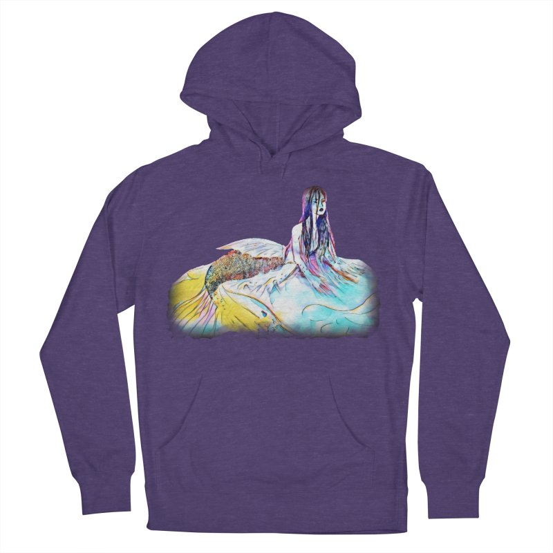 Emergence Men's French Terry Pullover Hoody by dasiavou's Artist Shop