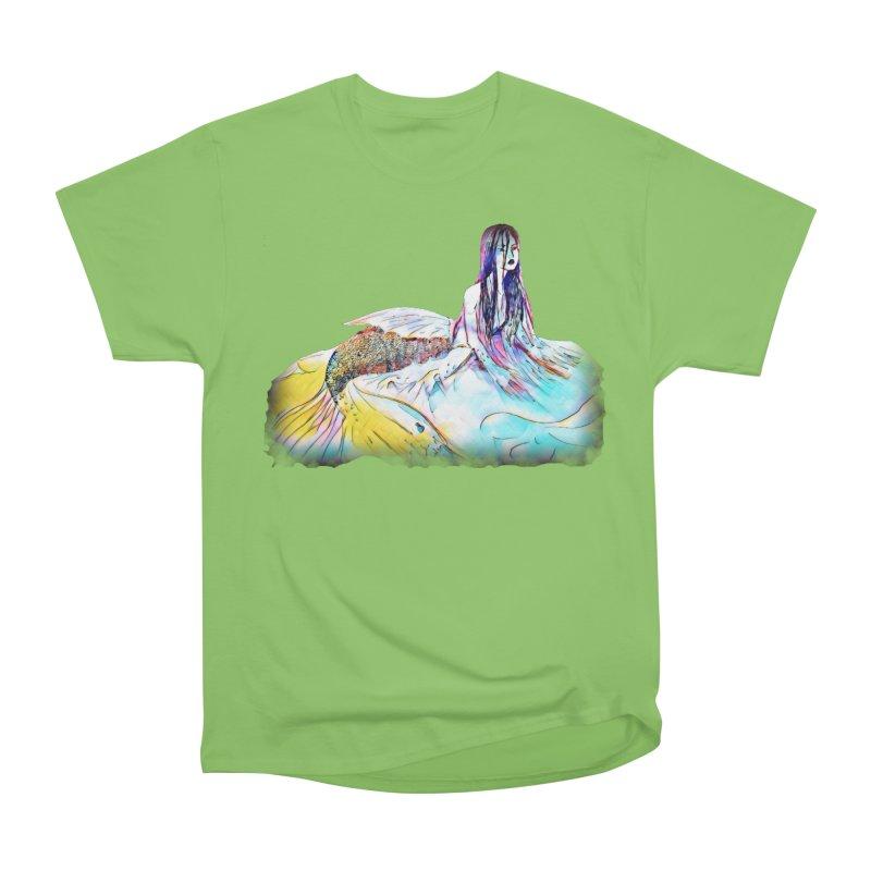Emergence Women's Heavyweight Unisex T-Shirt by dasiavou's Artist Shop