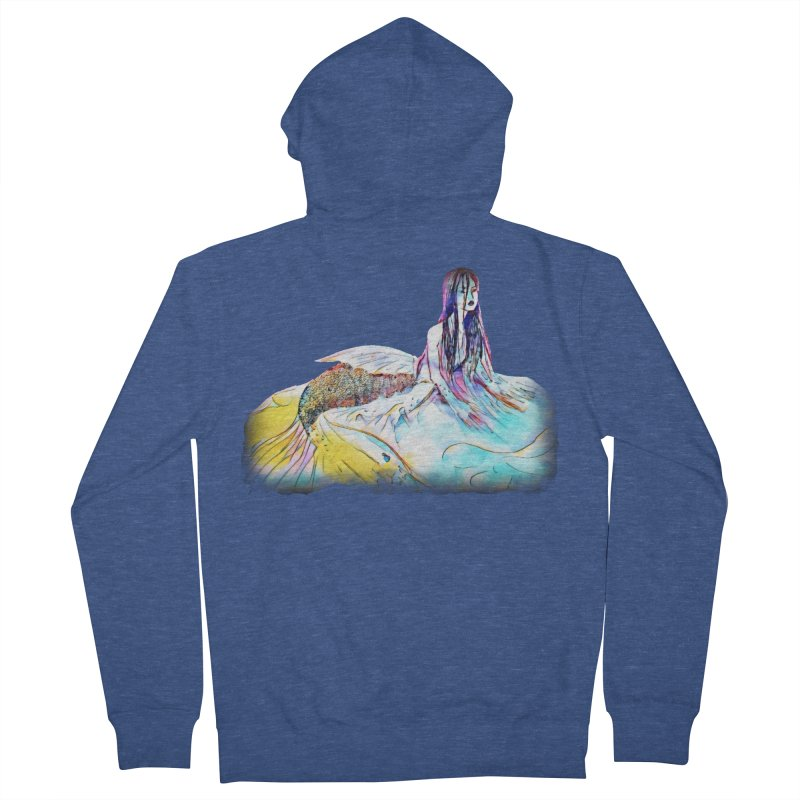 Emergence Women's French Terry Zip-Up Hoody by dasiavou's Artist Shop