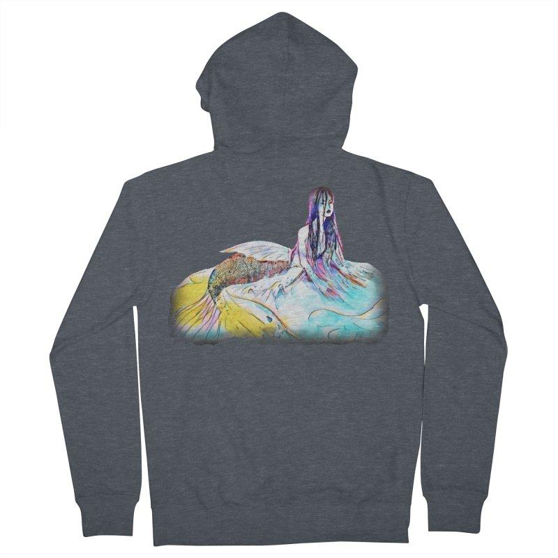 Emergence Men's French Terry Zip-Up Hoody by dasiavou's Artist Shop