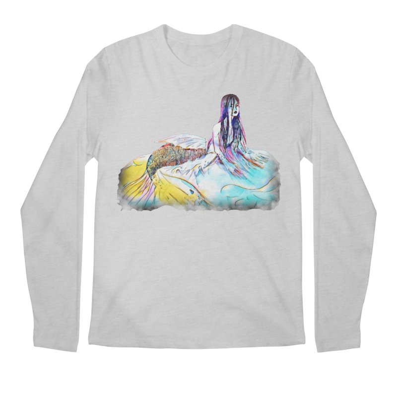 Emergence Men's Regular Longsleeve T-Shirt by dasiavou's Artist Shop