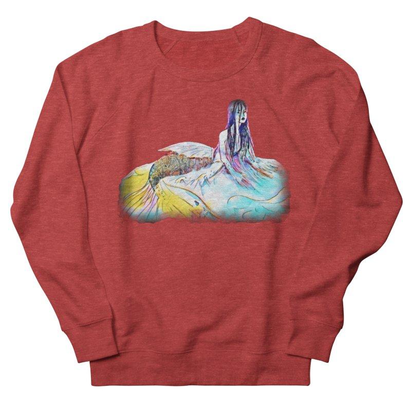 Emergence Men's French Terry Sweatshirt by dasiavou's Artist Shop