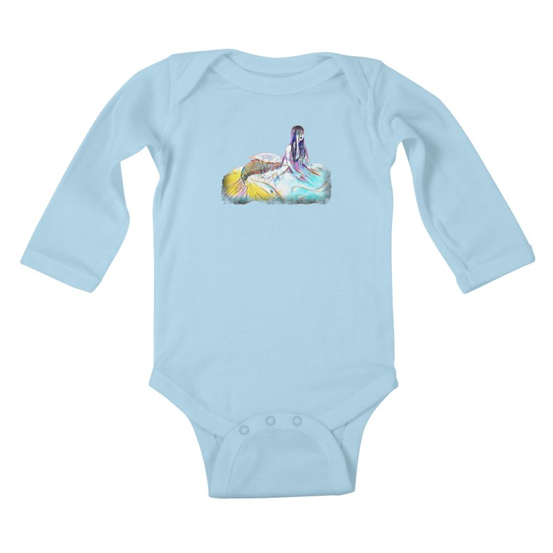 Emergence Kids Baby Longsleeve Bodysuit by dasiavou's Artist Shop