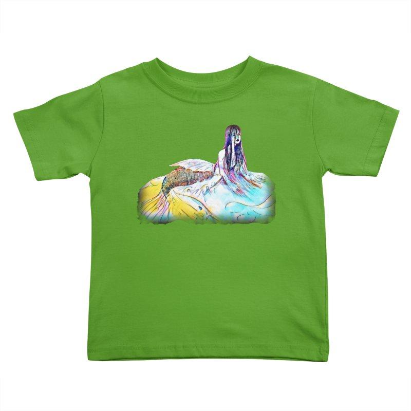 Emergence Kids Toddler T-Shirt by dasiavou's Artist Shop
