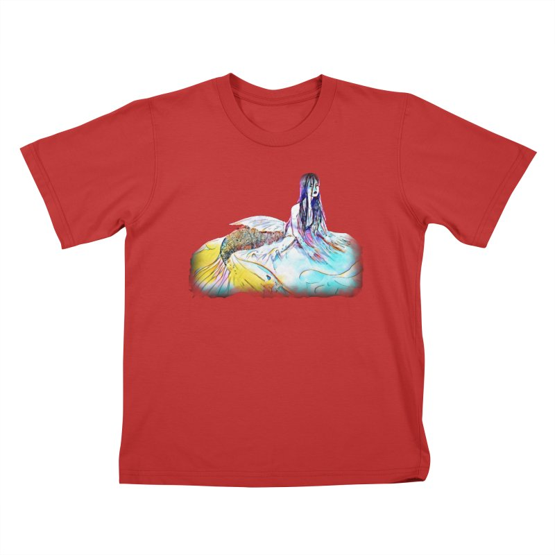 Emergence Kids T-Shirt by dasiavou's Artist Shop