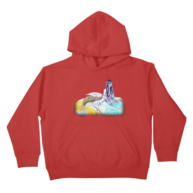 Emergence Kids Pullover Hoody by dasiavou's Artist Shop
