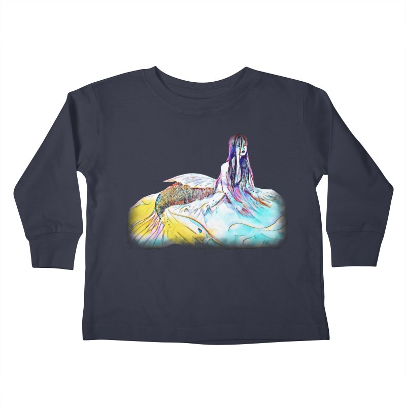 Emergence Kids Toddler Longsleeve T-Shirt by dasiavou's Artist Shop
