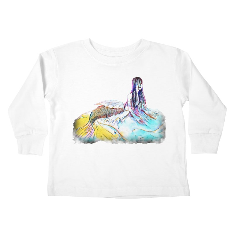 Emergence Kids Toddler Longsleeve T-Shirt by dasiavou's Artist Shop