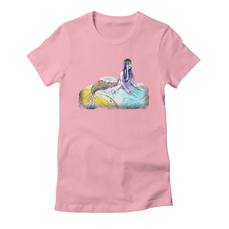 Emergence Women's Fitted T-Shirt by dasiavou's Artist Shop