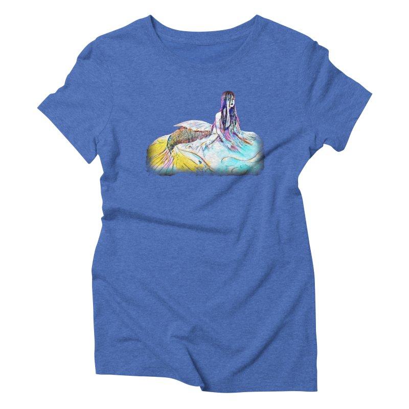 Emergence Women's Triblend T-Shirt by dasiavou's Artist Shop