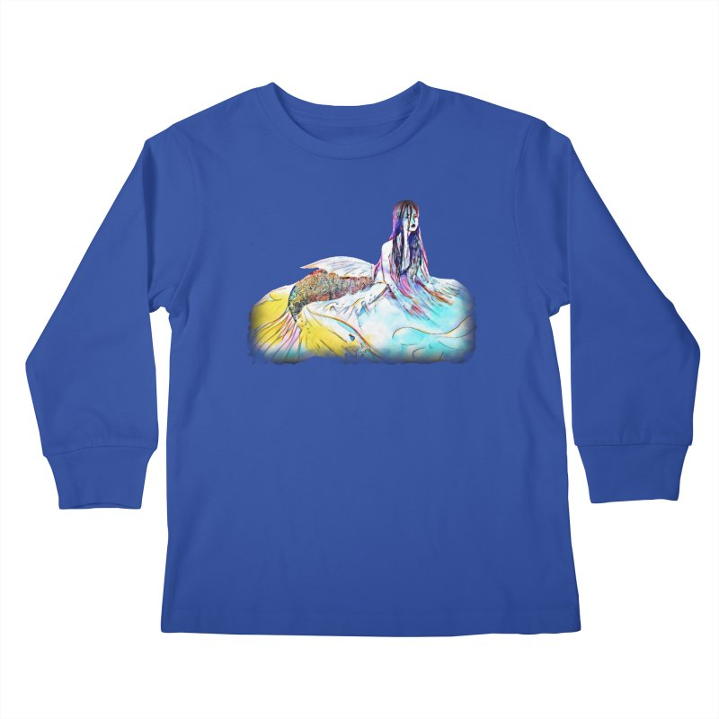 Emergence Kids Longsleeve T-Shirt by dasiavou's Artist Shop