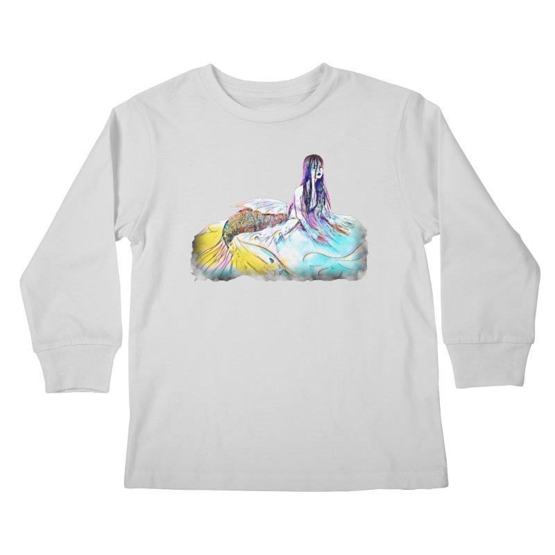 Emergence Kids Longsleeve T-Shirt by dasiavou's Artist Shop